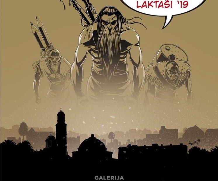 XII Салон стрипа, Лакташи 2019